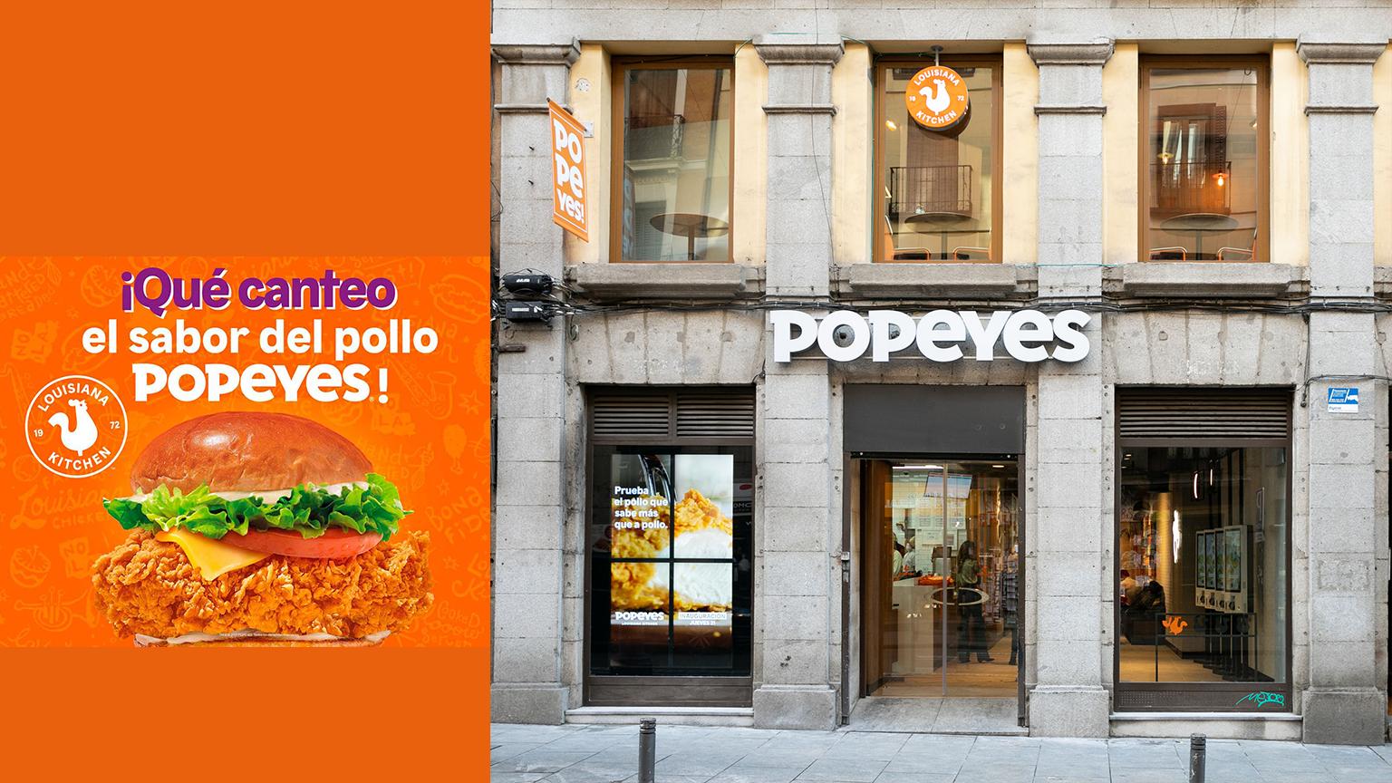 Popeyes Madrid