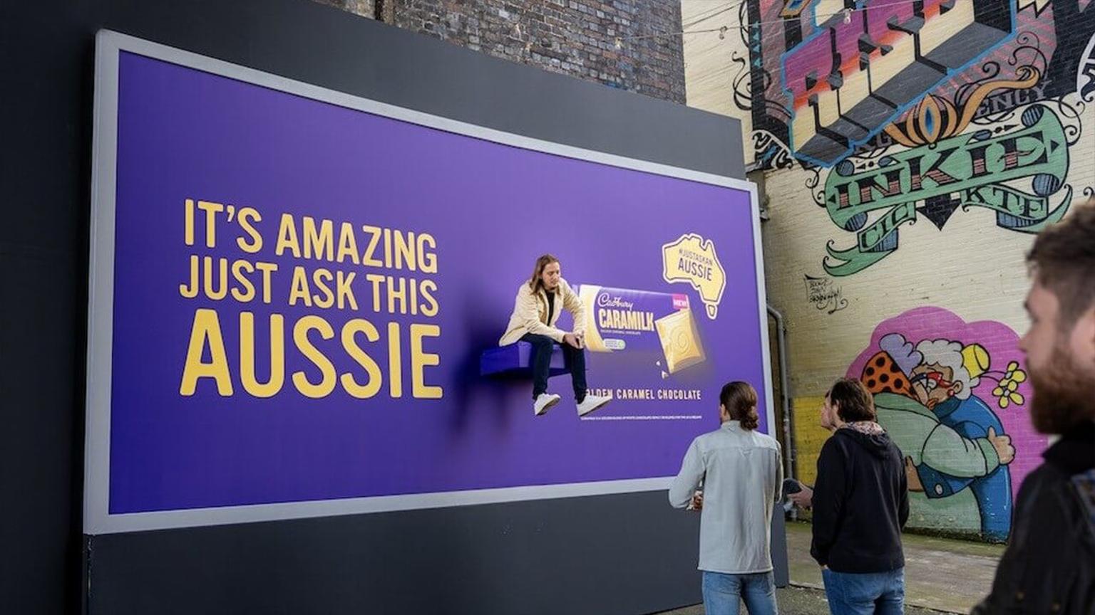 cadbury australia chocolates publicidad