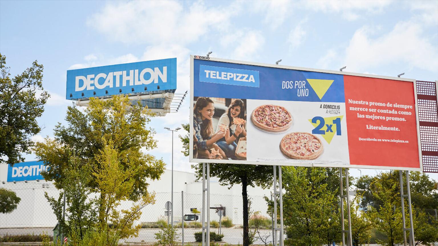 decathlon y telepizza